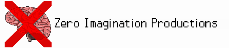 Zero Imagination Productions - Independent Developer Logo